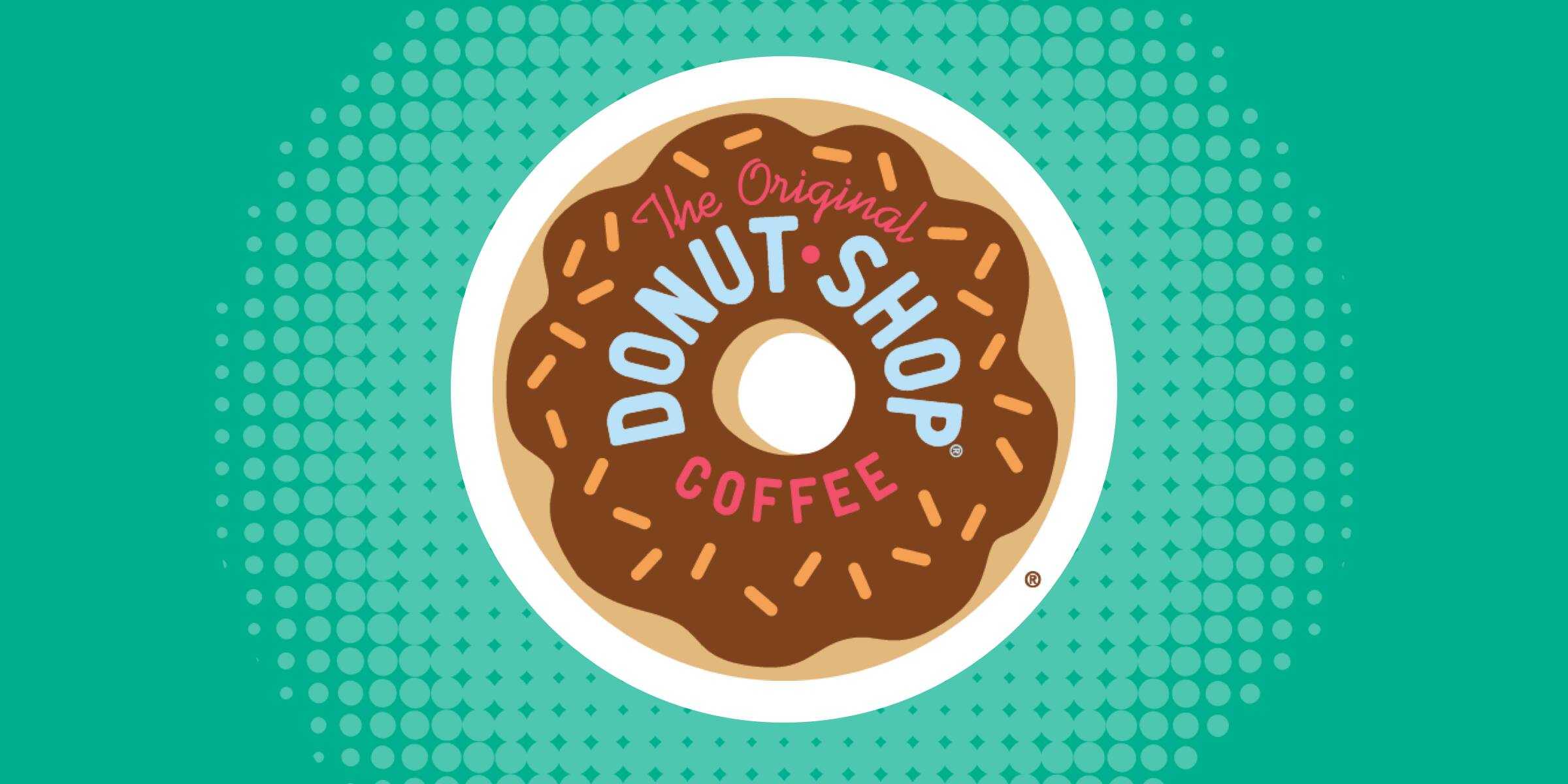 delicious donut shop coffee